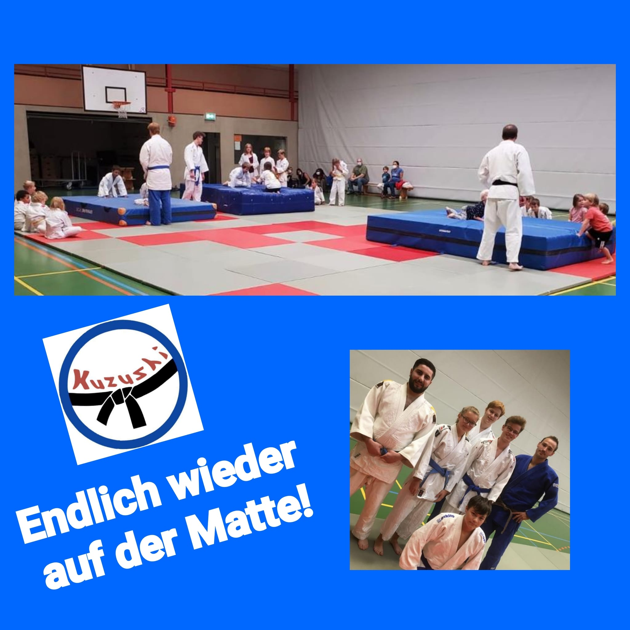 Judo-Training am Dienstag